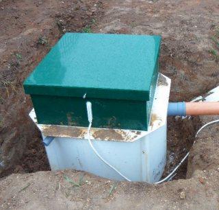 автономная канализация установка
