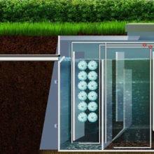 Принцип работы автономной канализации Биокси